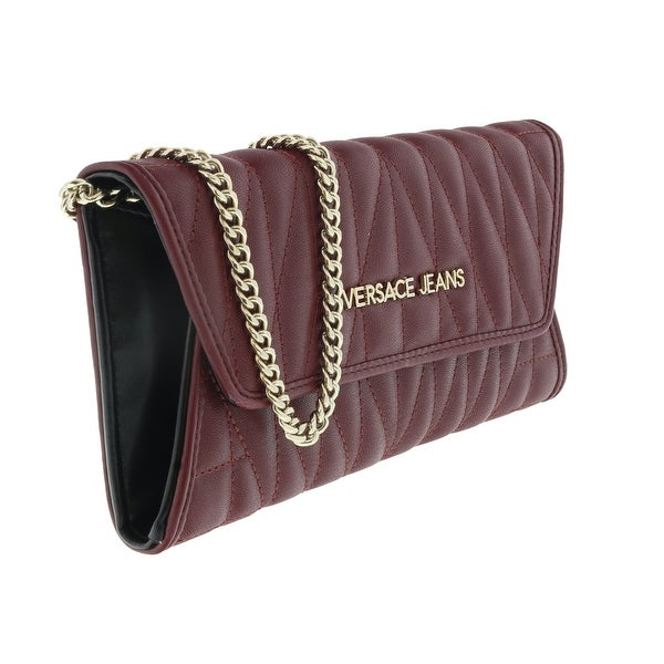 Versace EE3VQBPY3 E331 Magenta Wallet On Chain - 8-4-1