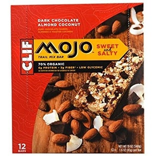 Mojo Bar Chocolate Almond Coconut (Box of 12)