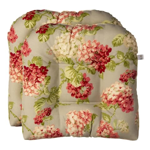 Summer Garden Wicker Seat Cushion 2 Pack