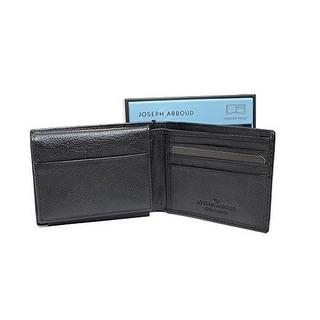 Joseph Abboud Mens Wallet, Black, OS