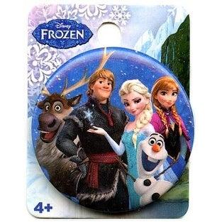 """Disney's Frozen 1.5"""" Button: """"Group Shot"""" - Blue"""