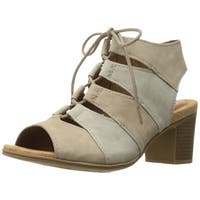 Cobb Hill Womens Hattie LACEUP SDL Leather Open Toe Casual Strappy Sandals