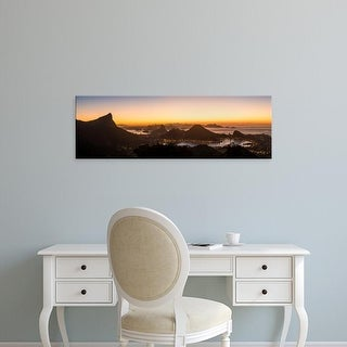 Easy Art Prints Panoramic Images's 'Aerial view of city from Chinese pavilion, Rio de Janeiro, Brazil' Canvas Art