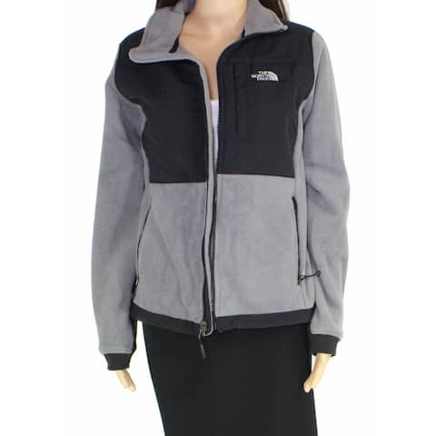 The North Face Women Jacket Heather Gray Size Small S 'Denali' Full-Zip
