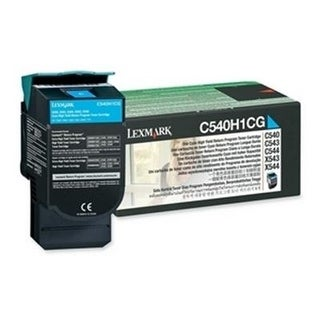 Lexmark C540h1cg Return High Capacity Cyan Toner Cartridge