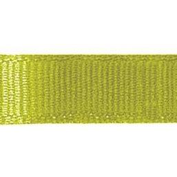 """Lemongrass - Grosgrain Ribbon 3/8""""X18'"""