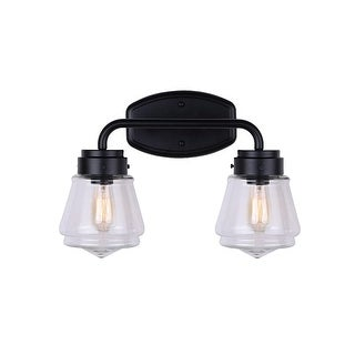 "Canarm IVL682A02 Lochlan 2 Light 16-1/2"" Wide Bathroom Vanity Light"