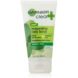 Garnier Clean + Invigorating Daily Scrub for Normal Skin 5 oz