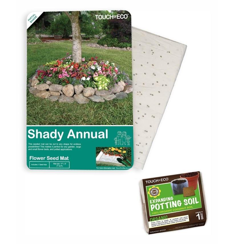 100x100cm PE Garden Pad Waterproof Plant Gardening Soil Lock Flower Mats