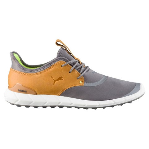 Puma Men's Ignite Spikeless Sport Smoked Pearl/Cathay Spice Golf Shoes 460023-02
