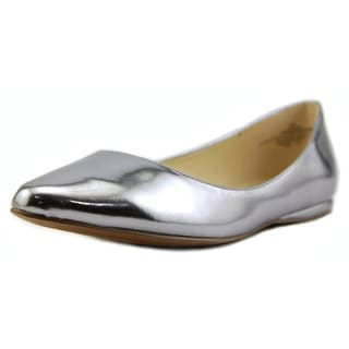 Nine West Speak Up Pointed Toe Synthetic Flats