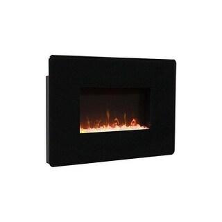 Muskoka MH25BL Corrida Wall Mount Fireplace - Black