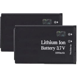 Replacement Battery for LG LGIP-530B (2 Pack)