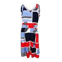 65778d76b8 Shop Tommy Hilfiger NEW Blue Women s Size 10 Seamed Knit Skater ...