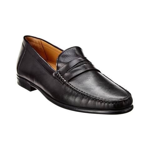 Mezlan Leather Loafer