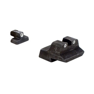 Trijicon S&W 10mm Long Rear, 3 Dot Front/Rear Sights