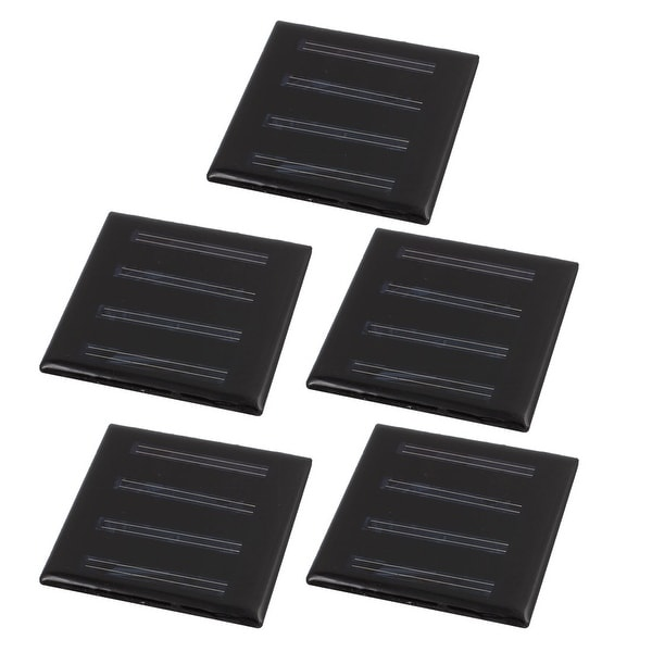5Pcs 55mmx55mm 2 Volts 25mA Polycrystalline Solar Cell Panel Module