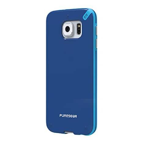 PureGear Slim Shell Case for Samsung Galaxy S6 - Pacific Blue - Pacific Blue