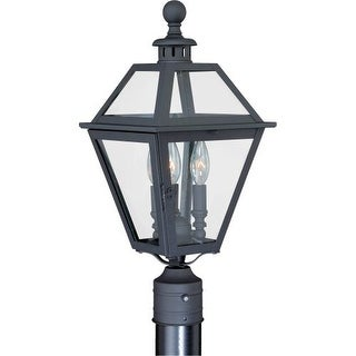 Vaxcel Lighting T0082 Nottingham 3 Light Outdoor Post Light