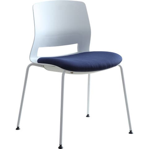 Lorell Arctic Series Stack Chairs - 2/CT
