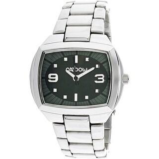 Oxbow Women's 4551103 Silver Stainless-Steel Quartz Fashion Watch