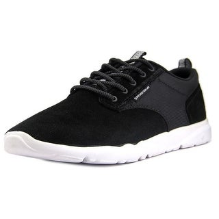 DVS Premier 2.0 Men Round Toe Suede Black Sneakers