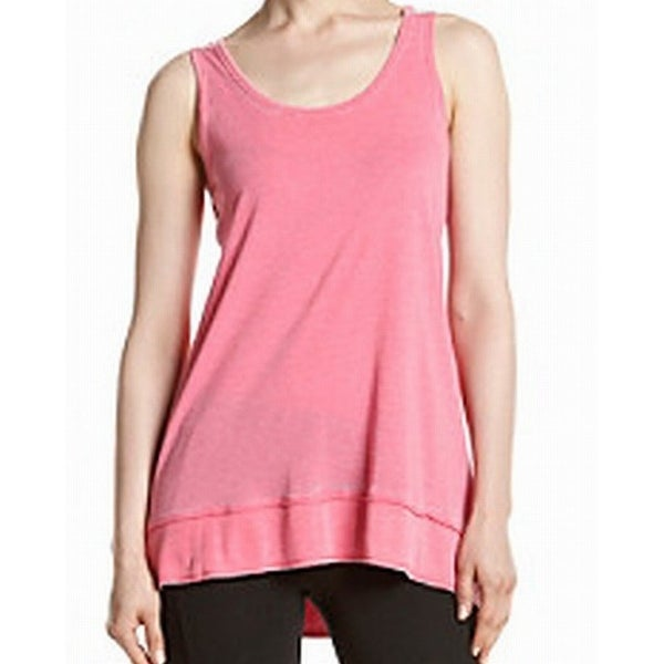 d52edca85d876 Shop Calvin Klein Performance NEW Pink Womens Small S High-Low Tank Cami Top  - Free Shipping On Orders Over  45 - Overstock - 20232166