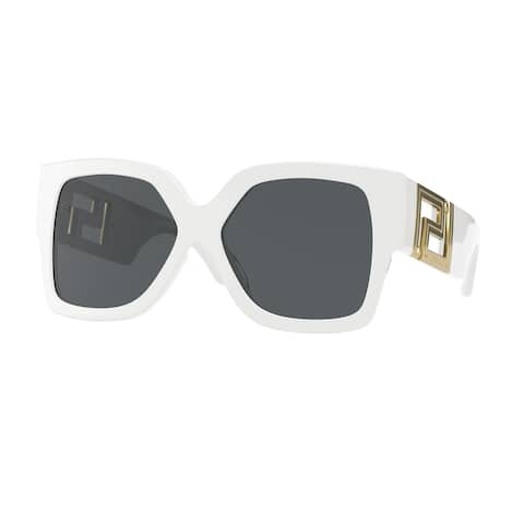 Versase VE4402 314/87 59 White Woman Rectangle Sunglasses