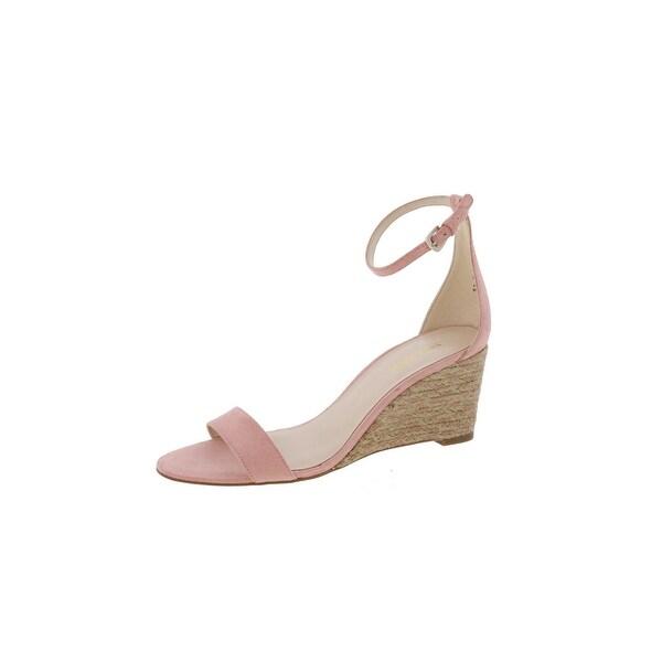 Nine West Womens Nice To See U Wedge Sandals Open Toe Ankle Cuff - 6.5 medium (b,m)