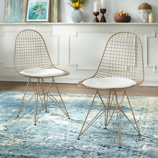 Link to Simple Living Eiffel Wire Dining Chair (Set of 2) Similar Items in Dining Room & Bar Furniture
