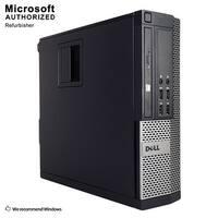 Dell 7010 SFF Intel Core i5 3470 3.20GHz, 8GB RAM, 3TB HDD, DVD, WIFI, BT 4.0, VGA, HDMI DP, WIN10P64(EN/ES)-Refurbished