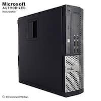 Dell OptiPlex 9020 SFF Intel Core I3 4130 3.4GHz 4GB RAM 250GB HDD DVD W10P(EN/ES)-1 Year Warranty(Refurbished)