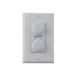 Craftmade CM-RTD Four Speed Fan and Light Control with Dimmer