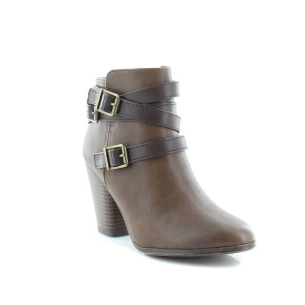 Material Girl Mina Women's Boots Cognac - 7