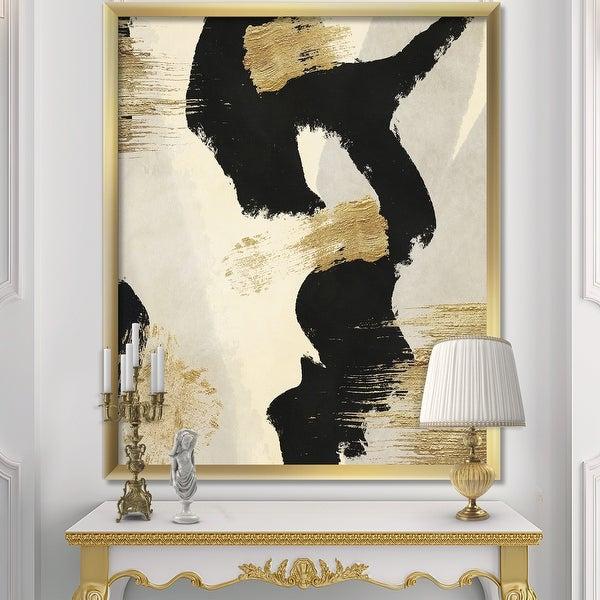 Designart 'Glam Collage II' Modern & Contemporary Premium Framed Art Print. Opens flyout.