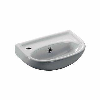 "WS Bath Collections Basic 4000.01R Basic 15-1/2"" Wall Mounted Bathroom Sink"