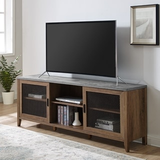 Link to The Gray Barn 70-inch Sliding Mesh Door TV Console Similar Items in TV Consoles