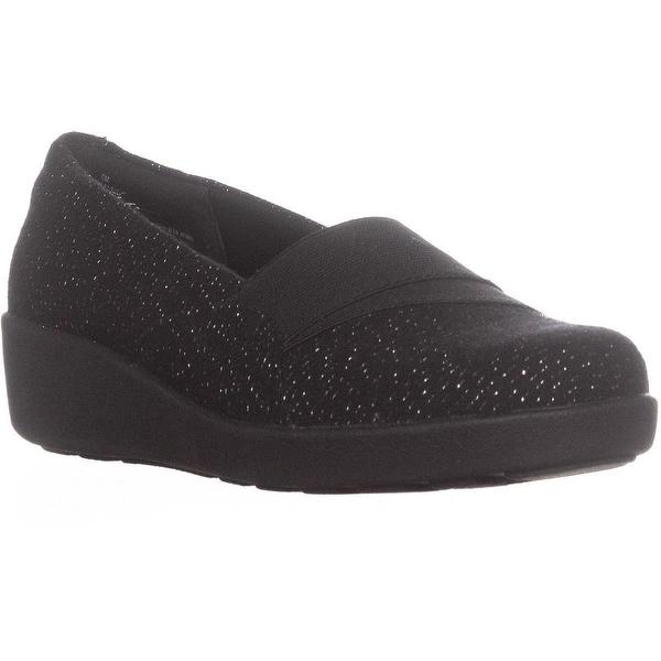 Easy Spirit Kaleo Slip On Comfort Flats, Black2/Black - 6 us