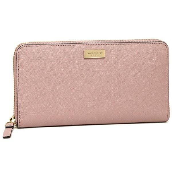 b84f19b1d4c0 Kate Spade New York Laurel Way Neda Saffiano Leather Zip Around Wallet  WLRU2669