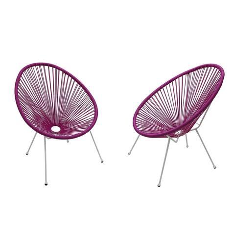 Acapulco Light Purple Resort grade Chairs Set of 2