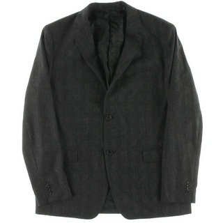 Theory Mens Suit Jacket Wool Heathered - 44R