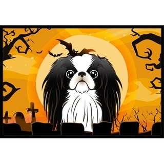 Carolines Treasures BB1788JMAT Halloween Japanese Chin Indoor & Outdoor Mat 24 x 36 in.
