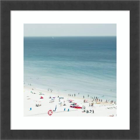 Sesimbra II (Beach) by Ingrid Beddoes Framed Wall Art Print