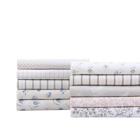Stone Cottage Cotton Percale Printed Sheet Set