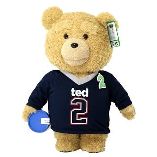 """Ted 2 Movie-Size 24"""" Talking Plush Ted in Jersey *Explicit* - multi"""