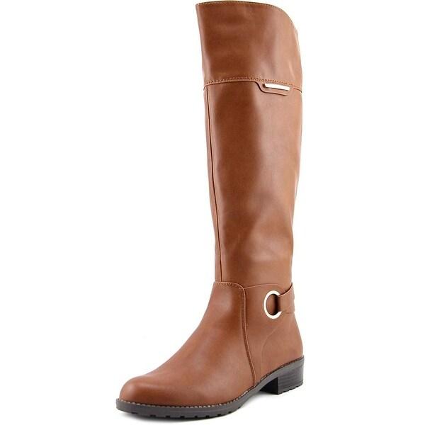 Alfani Jadah Women Cognac Boots