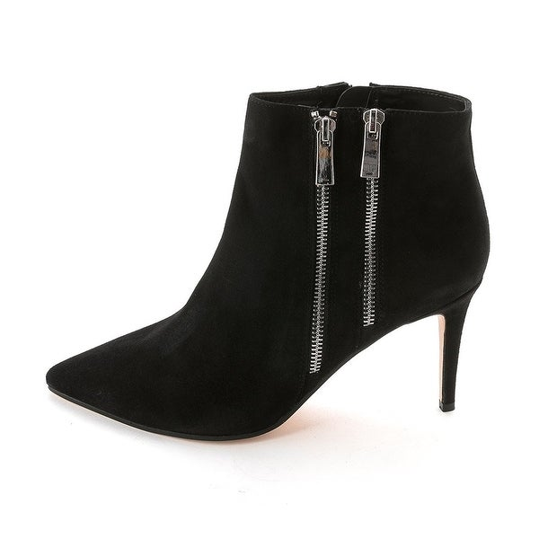 Dune London Womens NAMEDROP Leather Pointed Toe Ankle Fashion Boots - 10
