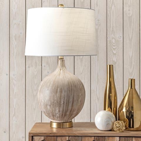 "nuLOOM Cortland 26"" Ceramic Table Lamp - 15""W x 15""D x 25.5""H"