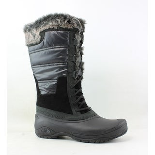The North Face Womens Shellista Black Snow Boots Size 10