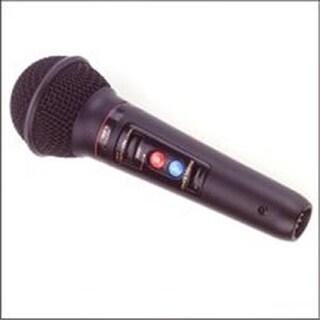 Professional Cardioid Dynamic Key-Control Microphone with Black